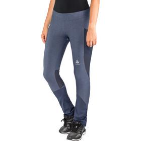 Odlo Exo Spodnie do biegania Kobiety niebieski